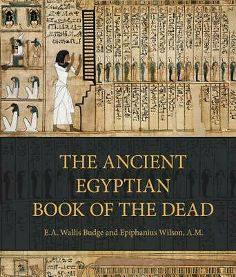 Ancient Egyptian Book of the Dead by E A Wallis Budge Hardcover Book Free Shippi