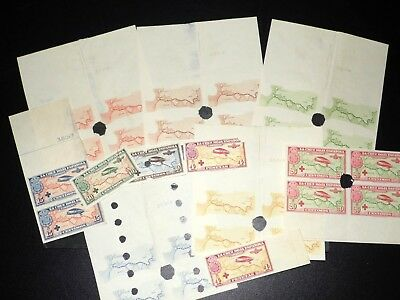 Spain 1926, highly interesting inventory airmail specimen & phase prints (5081