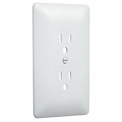 Hubbell Taymac - 2000W Paintable Outlet Cover Wall Plate Frame, White