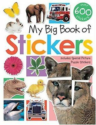 My Big Book of Stickers,- 9781843322474