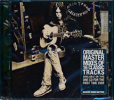 Neil young Greatest Hits CD NEW original master mixes