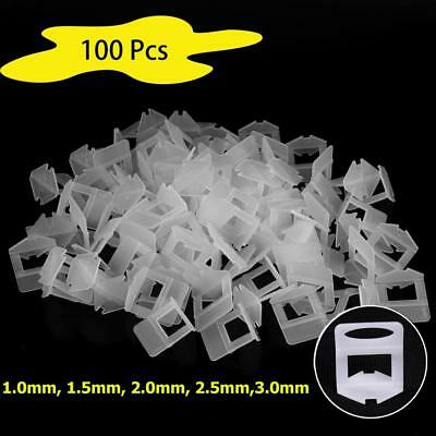 1/1.5/2/3mm Tile Leveling System Spacer Clips Wall Tiling Flooring Level Lippage