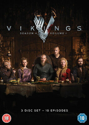 Vikings: Season 4 - Volume 1 DVD (2016) Travis Fimmel cert 18 3 discs ***NEW***
