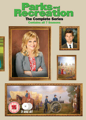 Parks and Recreation: Seasons 1-7 DVD (2015) Amy Poehler ***NEW***