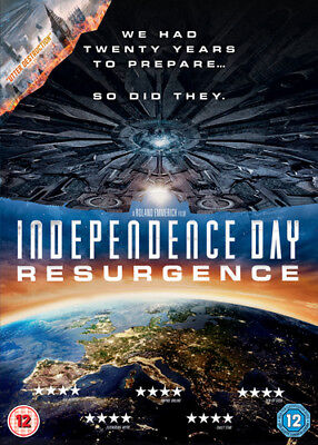 Independence Day: Resurgence DVD (2016) Liam Hemsworth ***NEW***