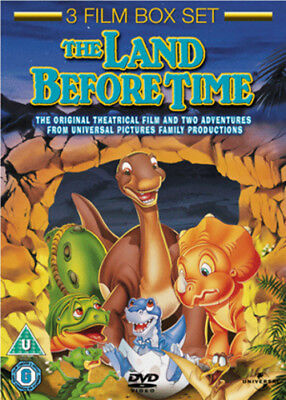 The Land Before Time 1-3 DVD (2011) Don Bluth ***NEW***