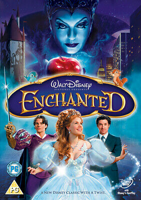 Enchanted DVD (2008) Amy Adams, Lima (DIR) cert PG Expertly Refurbished Product