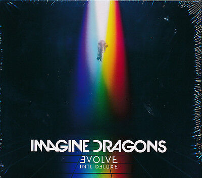 Imagine Dragons Evolve Intl Deluxe CD NEW extra track Levitate