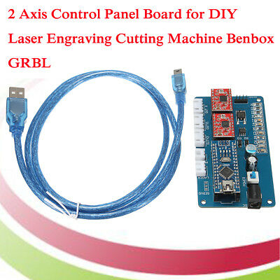 2 Axis Control Panel Board for DIY Laser Engraving Cutting Machine Benbox GRBL