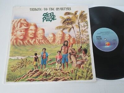 Steel Pulse/tribute To The Martyrs  Lp 1979 Ariola Island 200 584-320