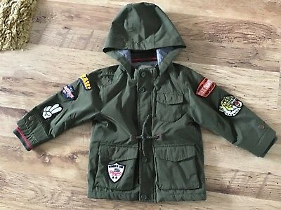 Baby Boys Coat Summer Into Autumn Age 18-24 Months Next
