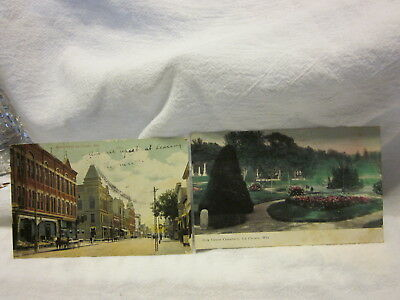 2 POST CARDS FROM La CROSSE, WIS