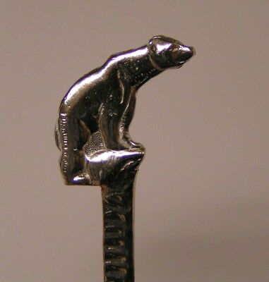 Salt Spoon Sterling Silver (  Polar Bear )