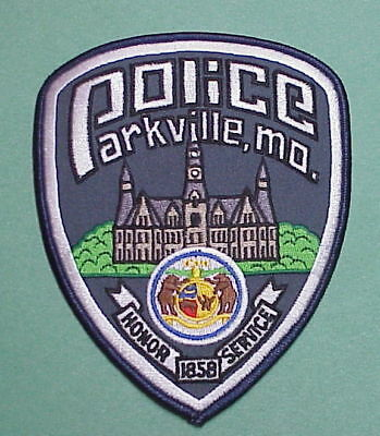 Parkville   Missouri 1858   Mo   Honor / Service  Police Patch   Free Shipping!!