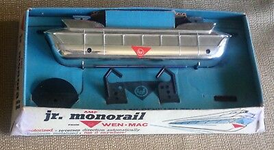 Motorized AMF JR. MONORAIL Toy from WEN-MAC ~1964-1965 NEW YORK WORLD'S FAIR~