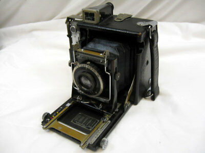 VINTAGE GRAFLEX MINIATURE SPEED GRAPHIC 1938-1947, 2-1/4 x 3-1/4 CAMERA