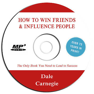 *NEW 2019-How to Win Friends & Influence People- Dale Carnegie-Audio Book MP3 CD