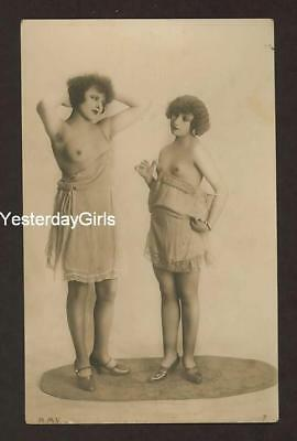 Ygk1-2073 Vintage 1910's-30's Postcard* Classic Posed Nude Vfn