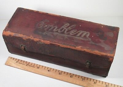 EMBLEM Bicycle / Motorcycle Co, - Leather Tool Repair Kit - Angola NY - 1900+/-