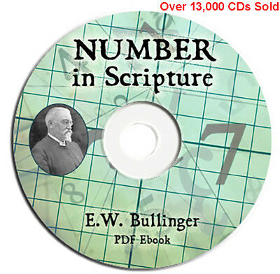 Number in Scripture-E W Bullinger-CD Ebook PDF-Bible Commentary Christian Study