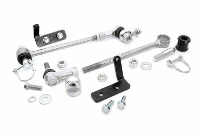 Rough Country Front Sway Bar Quick Disconnects - 84-01 Jeep Cherokee XJ
