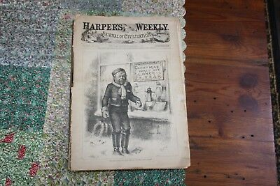 Harpers Weekly Bound edition 1881 Volume XXV Journal of Civilization Lost Cover