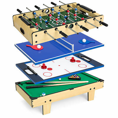 IFOYO Multi Function 4 In 1 Steady Combo Game Table, Hockey Table, Soccer  Foosball Table, ...