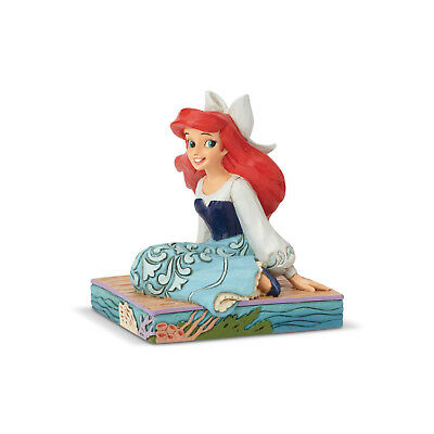 Disney Traditions Jim Shore 2018 Little Mermaid Ariel Personality Pose Figurine