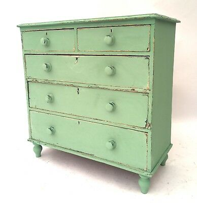 Antique 19th Century French Provencal Bohemian Shabby Chic Chest of Drawers