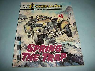 1985 Commando comic no. 1864