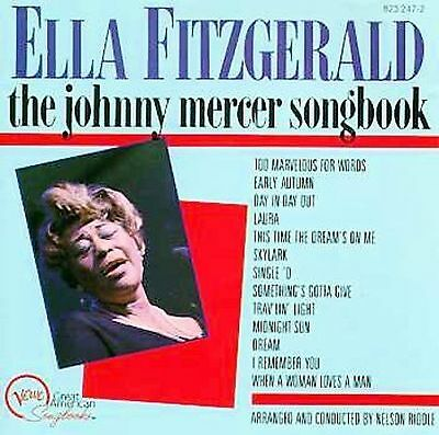 Fitzgerald, Ella : Ella Fitzgerald Sings The Johnny Mercer CD
