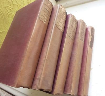 A Naval History Of Britain 1833, 5 Volumes.