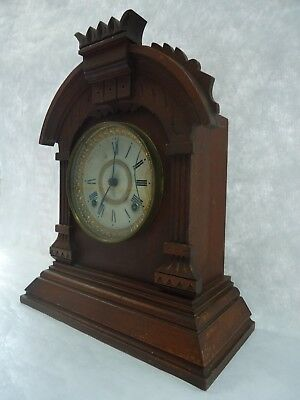 Antique Ansonia Chiming Mantle Clock. Spares Or Repair