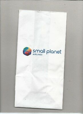 Spucktüte     small planet AIRLINES