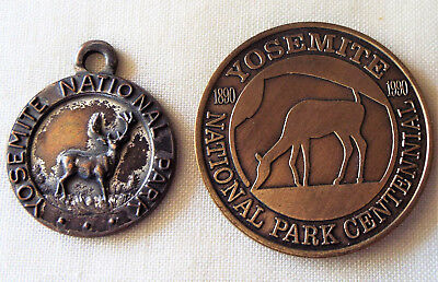 Yosemite Bronze Medal And Old Fob