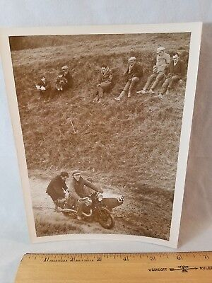 Orig 1930 Motorcycle Race Photo Kent England No.3 Matchless NO Reserve