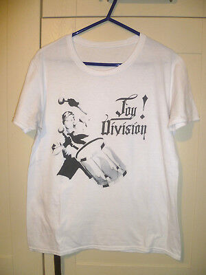 """Joy Division (Factory Records) - Vintage """"an Ideal For Living"""" White T-Shirt"""