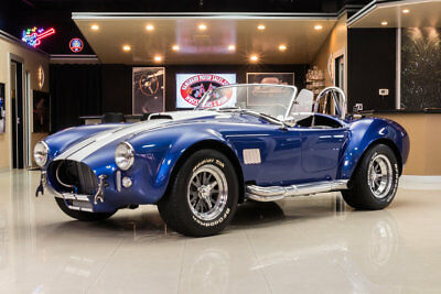Shelby Cobra Superformance uperformance! Ford 302ci HiPo V8, Tremec TKO 5-Speed Manual, IRS, Low Miles!