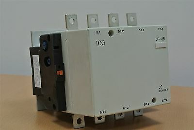 AC 4 Pole contactor 230 Volt Coil MOTOR 3 Phase Inverter Converter 110 KW 1854