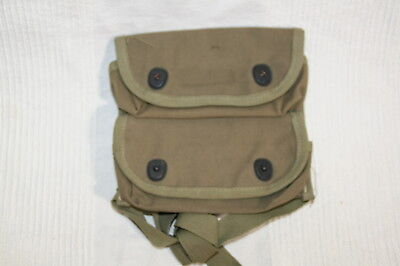 WW2 US Marine Corps Unissued two pocket grenade  pouch carrier  USMC