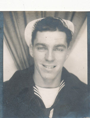 WWII 1940s USS Dixie AD 14,  sailor's photo booth Photo #3