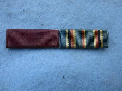 WWII US Navy Ribbon Bar Over Sized American Theater Good Conduct USN PB WW2