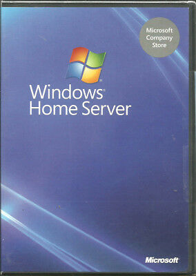 Windows Home Server circa 2007 Software New and Sealed Part No. X13-72486-01