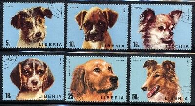 1974 Liberia - Puppies (6) CTO