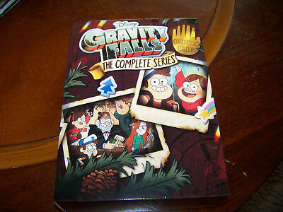 Gravity Falls The Complete Series ( DVD, 2018, 7-Disc Set) Free Shipping