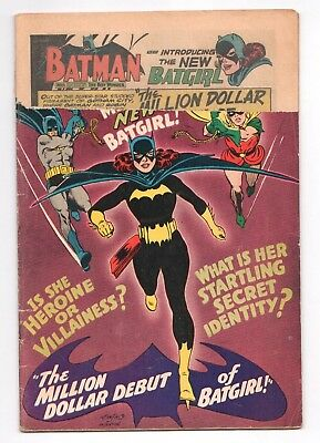 "Detective Comics #359 1st Barbara Gordon Batgirl 1967 Cover Logo ""Returned"""