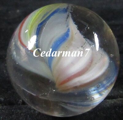 "Cedarman7< Gorgeous Vintage 1&3/32"" Near Mint (+) Master Marble Shooter Marble!"