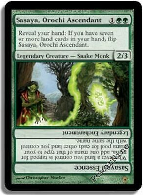 1 PLAYED Sasaya, Orochi Ascendant - Green Saviors of Kamigawa Mtg Magic Rare 1x