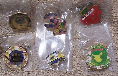 6 Balloon Pins Which Includes 2 Albuquerque Intl Balloon Fiesta Pins Lot #811809
