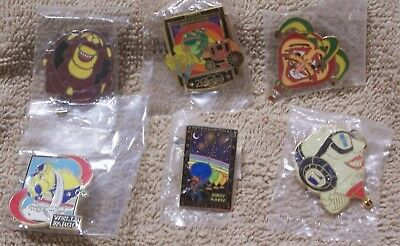 6 Balloon Pins Which Includes 2 Albuquerque Intl Balloon Fiesta Pins Lot #811806